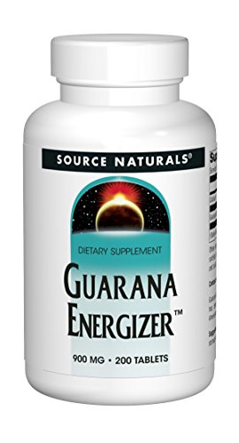 Source Naturals - Guarana Energizer, 1200 mg