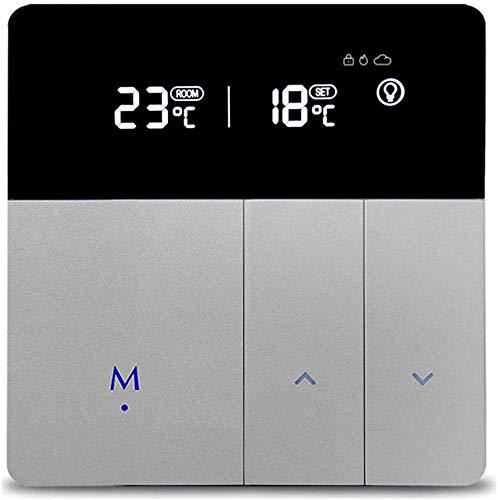 Alexa Echo caldaia Wi-fi controllo Termostato di Riscaldamento acqua Regolatore di Temperatura per Sala Programmabile (Boiler Floor Heating Controllor)