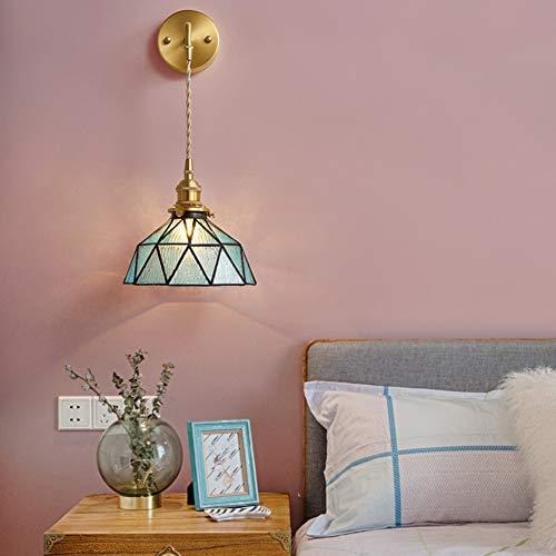 SXFYWYM El koperen wandlamp LED creatieve retro wandlamp café slaapkamer hoofdlamp wandlamp leeslamp