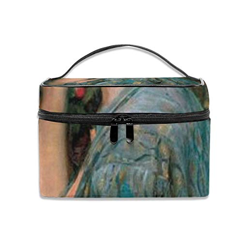 The Soul of The Rose Travel Cosmetic Case Organizer Portable Artist Storage Bag with, Built-in Pocket, Multifunction Case Toiletry Bags for Women