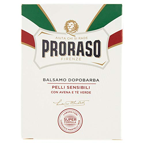 PRORASO Aftershave Balm White, 100 ml