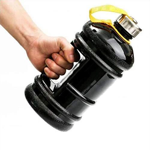 2.2L 1.8L 1.5L Gran capacidad 1/2 galón Botella de agua Proteína Botellas deportivas de plástico Empuñadura Gimnasio Hervidor de fitness