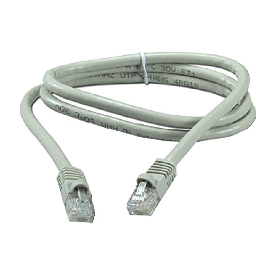 10' FT CAT6 23 AWG Copper Patch Cord Cable Gray Ethernet 550 MHz Snagless UTP RJ45 Fast Media CAT6 RJ-45 Snagless Male to Male Category 6 High Speed Ethernet Data Computer