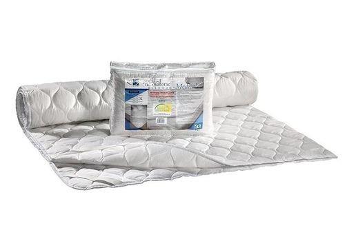 Merino Wool Bedding Medical matrasbeschermers, onder deken Mattrice Topper UNDERBLANKET functioneel en hygiënisch, bevestigd aan de matras met elastische band