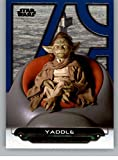 2018 Topps Star Wars Galactic Files Blue #TPM-30 Yaddle