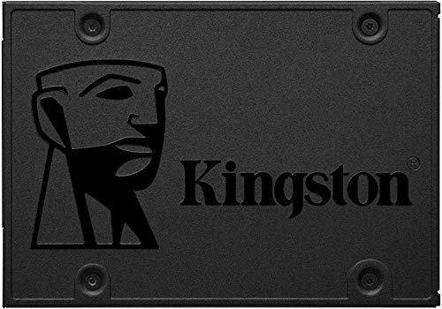 Kit SSD Kingston 240GB A400 2.5' SATA SA400S37/240G + Adaptador Caddy DVD Drive 9.5mm