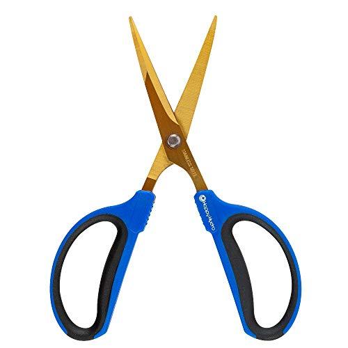 Happy Hydro - Trimming Scissors - 60mm Straight Tip Blades - Titanium Coated