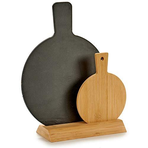 Je unieke gordijnenset met 2 ronde panelen en bamboe. Robuust, ideaal voor kaas, trechter, kleine onderdelen. Afmetingen: 28 x 10 x 33 cm.