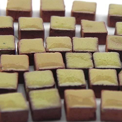 Mosaik-Minis RY01 - Juego de 500 mosaicos (5 x 5 x 3 mm), color amarillo limón