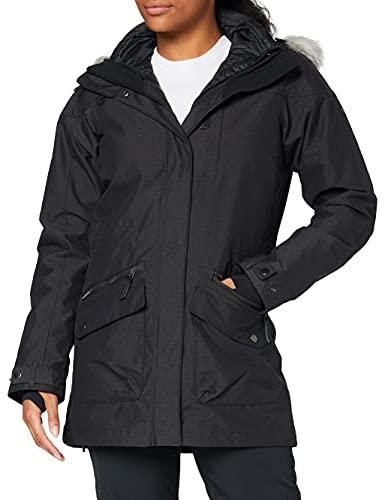 Columbia Chaqueta impermeable para mujer, Carson Pass IC Jacket, Nailon, Negro, Talla...