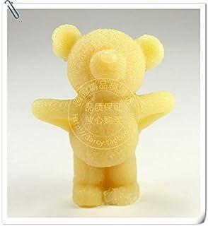 star-trade-inc–oso molde de silicona molde de Jabón vela 3d hecha a molde de silicona DIY Craft moldes S249