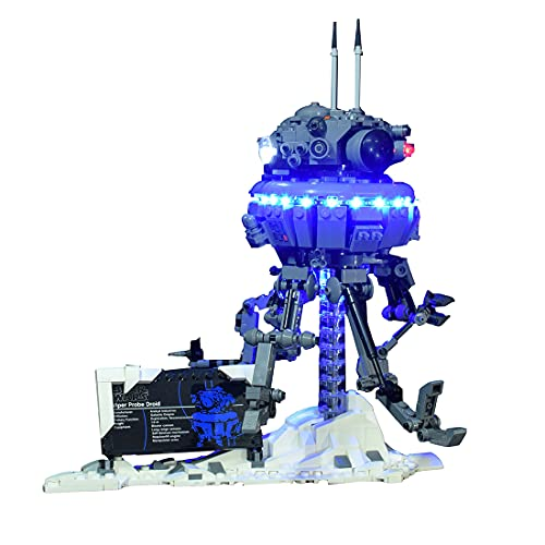 SENG LED Licht Beleuchtungsset für Star Wars Imperialer Suchdroide, Kompatibel mit Lego 75306 (Modell Nicht Enthalten)