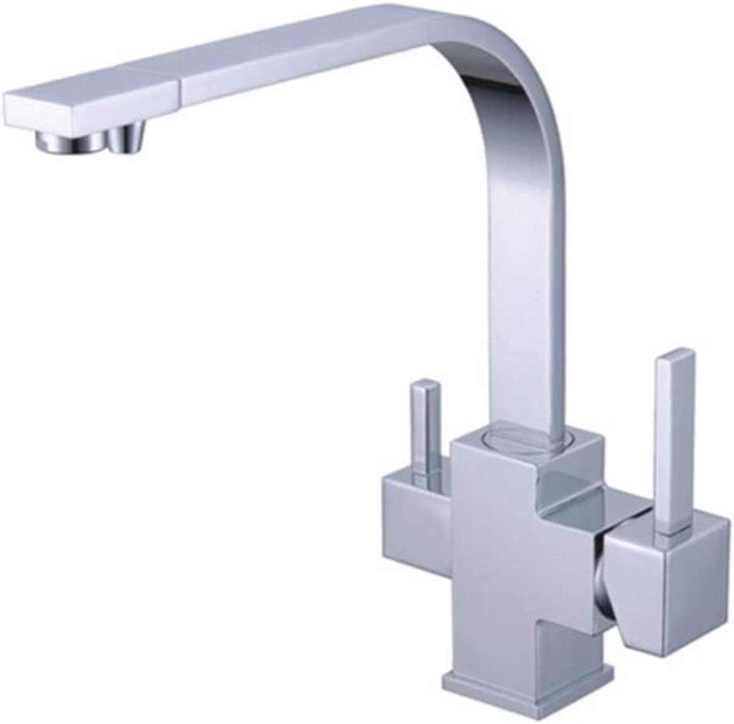 Taps Kitchen Basin Bathroom Washroomkitchen Faucet Three Way Tap for Water Filter