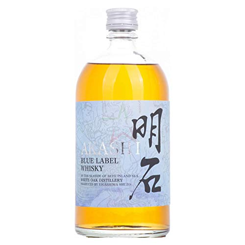 White Oak AKASHI BLUE Blended Whisky 40,00% 0,70 Liter