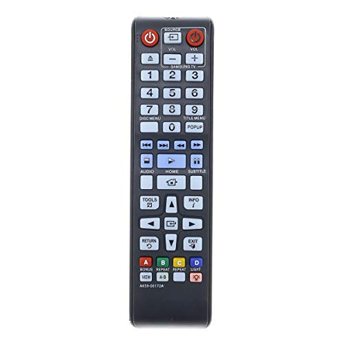 New AK59-00172A Remote Control Replacement for Samsung BD-F5700 BDHM57CZA BD-H6500 BD-H6500/ZA DVD BD Blu-Ray Disc Player