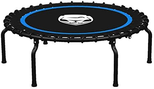 Gymqian Trampoline for Children/Kids Foldable Fitness Trampoline Bouncing Bed Load Capacity 110 Kg Be Quiet Family Adult Children's Sports Toys Playground Adult