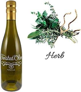 Tuscan Herb Olive Oil | 12.7oz | Twisted Olive Extra Virgin Olive Oil