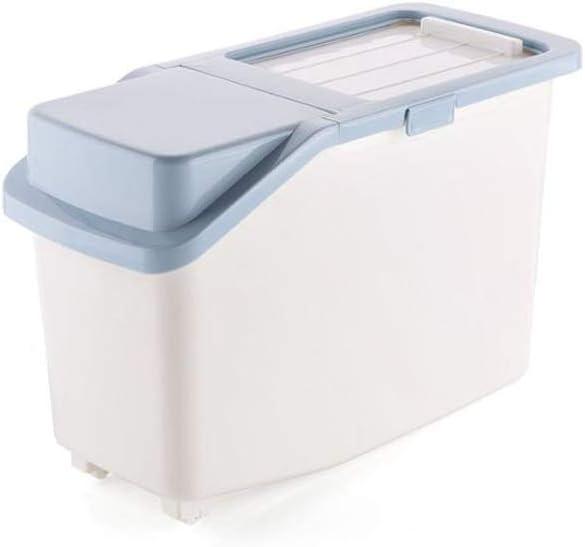 LLRYN Plastic Rice Max 65% OFF Storage Box Gr for Max 87% OFF Kitchen Whole
