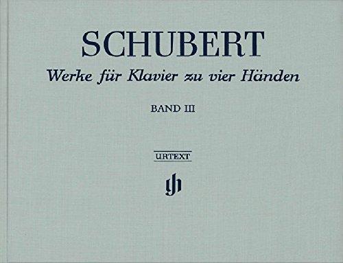 Oeuvres pour Piano a Quatre Mains, Volume 3 (Reliure Lin)