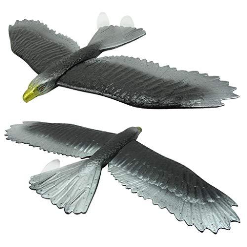 Gaddrt Flugzeug Spielzeug DIY Coating Foam Hand Launch Werfen Flugzeuge Flugzeug Segelflugzeug DIY Pläne 2PC