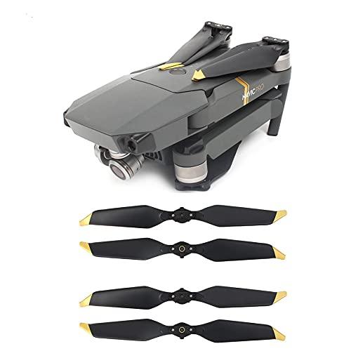 FBUWX 4PCS 8331. Elica a Basso Rumore per DJI. per Mavic per PRO. Puntaloni di Platinum Drone Quick-Release Puntes Pezzi di Ricambio Blades ( Color : Silver )