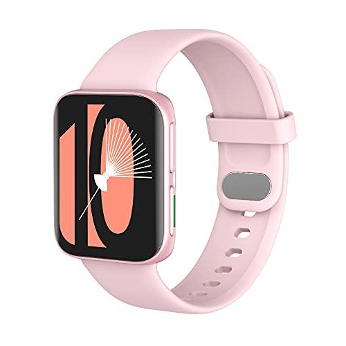 KOPOU Reloj Inteligente Relojes para Hombres Y Mujeres 2021 Rastreador de Actividad Reloj Inteligente con Pantalla Táctil Reloj de Fitness Monitor de Ritmo Cardíaco/Sueño Oxígeno en