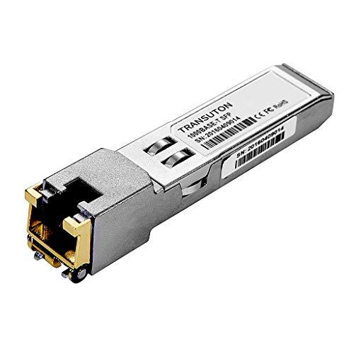 SFP to RJ45 Copper Transceiver Gigabit Module 1000Base-T Compatible...