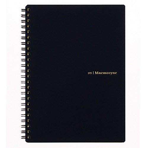 Maruman MNEMOSYNE Notebook 8.27 x 5.83 Inches (A5), 7mm ruled 24-line, 80 Sheets...