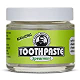 Uncle Harry's Natural & Fluoride-free Remineralizing Toothpaste - Freshens Breath & Strengthens Enamel - Spearmint, 3 Ounce (Pack of 1)