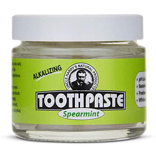 Uncle Harry's Natural & Fluoride-free Remineralizing Toothpaste - Freshens Breath & Strengthens...