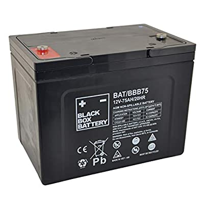 12V 75Ah BBB Sealed Lead Acid (AGM) Mobility Scooter Battery