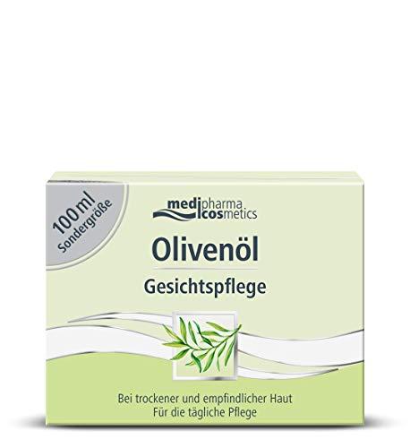 Olivenöl Gesichtspflege Creme, 100 ml Sondergröße