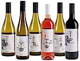 7STEIN Probierpaket Sommerreise - 6 frische Sommerweine aus den besten Lagen rheinhessischer Familienbetriebe, Qualitätsweine aus Deutschland (6 x 0.75 l)