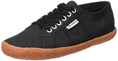 Superga 2750 NAKED COTU, Damen Sneakers, schwarz, Gr.45 EU (10.5 UK)