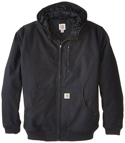 Carhartt Aktiv-Herrenjacke Quick Duck Jefferson , XXL, schwarz, 1