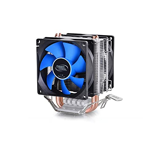 Centilador Cpu CPU Refrigerador con 2 tipos de calor de contacto directo de 80 mm de ventilador de 80 mm de hasta 95 W CPU refrigerador de aire enfriador de aire compuesto térmico pre-aplicado Sistema