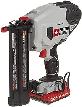 Porter-Cabble 20V MAX 18GA Cordless Brad Nailer Kit