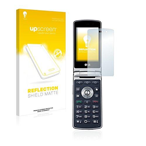 upscreen Entspiegelungs-Schutzfolie kompatibel mit LG Wine Smart H410 – Anti-Reflex Bildschirmschutz-Folie Matt