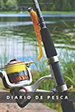 CUADERNO DE PESCA: Registra todos los detalles: lugar, fecha, marea, fase lunar, cebo, capturas y más | Regalo especial para amantes de la pesca de río.