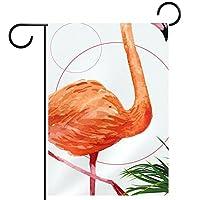 庭の装飾の屋外の印の庭の旗の飾りフラミンゴ テラスの鉢植えのデッキのため