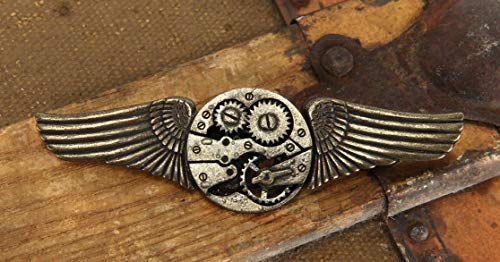 Elope Gear Wings Antique Adult Pin Accessory Size One-Size