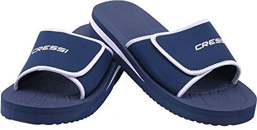 Cressi Shoes Panarea Ciabatte per Spiaggia e Piscina Unisex, Blu, 44
