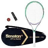 Senston Raqueta de Tenis 19/23/25,One-Piece-Desgin Raqueta Tenis, Incluido...