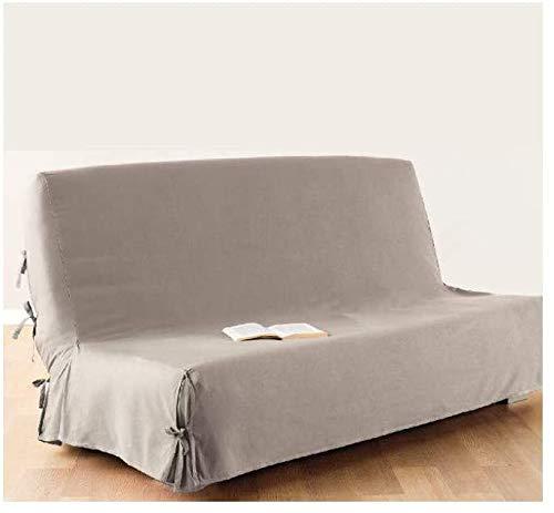 Housse de canapé clic-clac - 100 % coton - coloris LIN