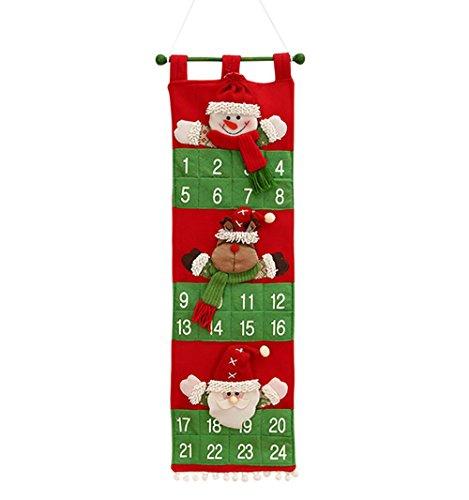 barato! Calendario de Adviento con colgante de Navidad para decoración del hogar