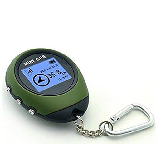 Kingwin hiking Climping mini USB portatile localizzatore GPS Navigator con portachiavi