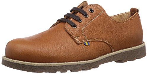 Kavat Axmar, Chaussures de Ville à Lacets pour Homme Marron Braun (Lightbrown) 41