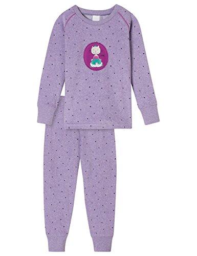 Schiesser meisje Cat Zoe Md lang tweedelige pyjama
