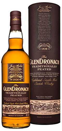 The GlenDronach TRADITIONALLY PEATED Highland Single Malt Scotch Whisky (1 x 0.7 l)