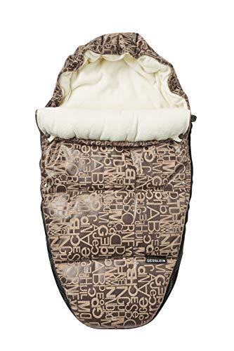 Gesslein 5831684000 Fußsack Sleepy in der Farbe Avenue, beige